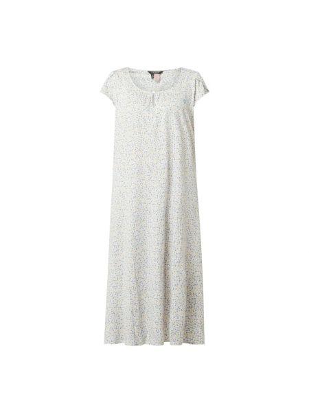 Biała koszula nocna bawełniana Lauren Ralph Lauren