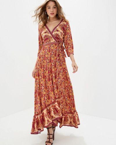 Платье - оранжевое Mazal
