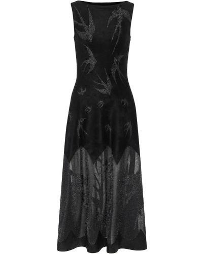 Бархатное платье Alaã¯a