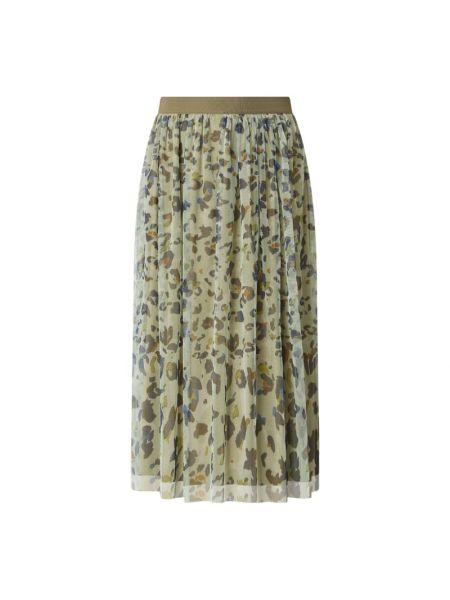 Spódnica rozkloszowana - zielona More & More
