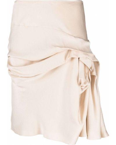 Biała spódnica ołówkowa Christian Dior