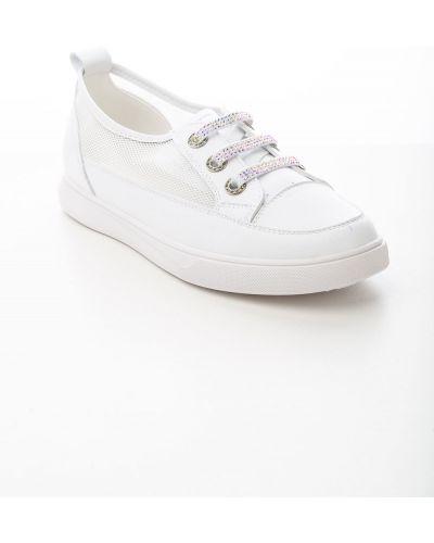 Белые ботинки из искусственной кожи Prima D'arte