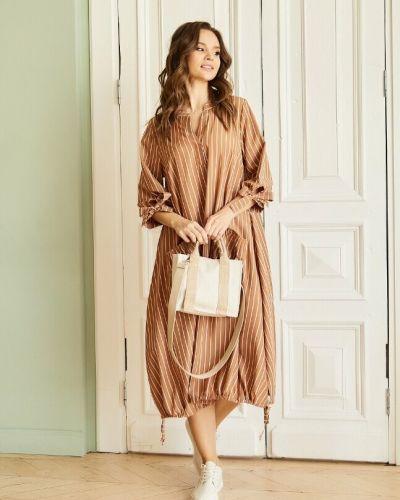 Платье бохо на каблуке с завязками Ellcora
