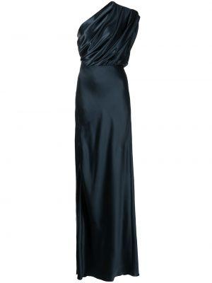 Шелковое платье - черное Michelle Mason