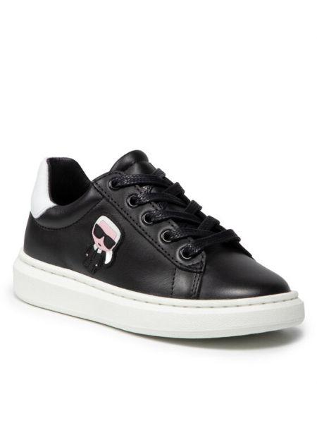 Sneakersy - czarne Karl Lagerfeld