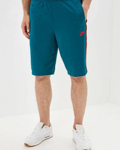 Спортивные шорты бирюзовый Nike