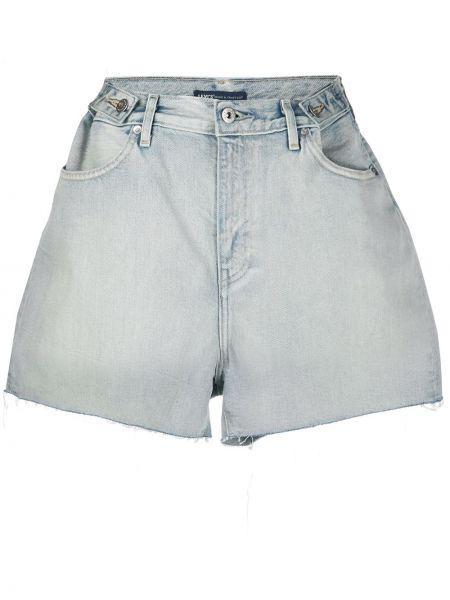 Джинсовые шорты с завышенной талией свободные Levi's Made & Crafted