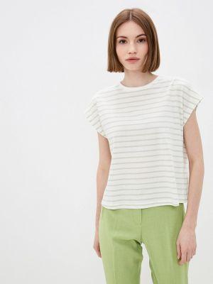 Зеленая футболка с короткими рукавами Only