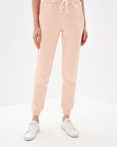 Спортивные брюки коралловый красный Imago