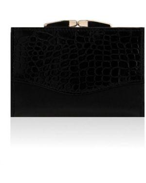 Czarny portfel skórzany Felice
