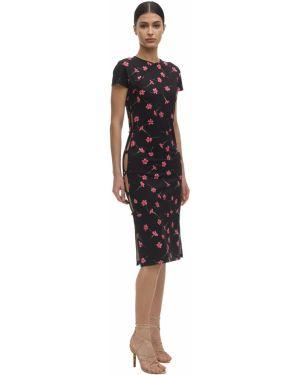 Платье на пуговицах с цветочным принтом Marcia
