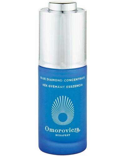 Niebieski skórzany koncentrat do twarzy przezroczysty przeciw zmarszczkom Omorovicza