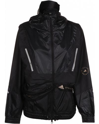 Czarna kurtka Adidas By Stella Mccartney