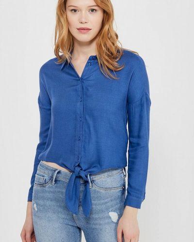 Блузка синяя Miss Selfridge