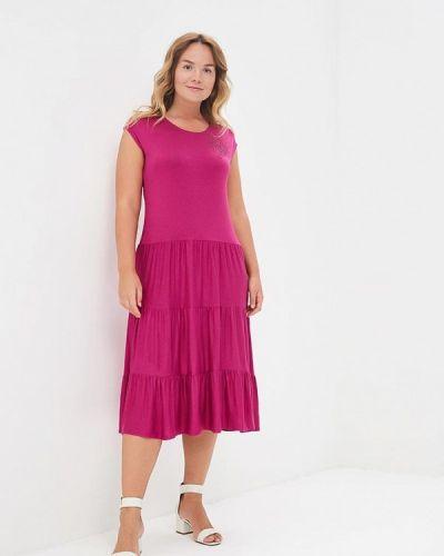 Платье весеннее розовое Sparada