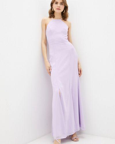 Фиолетовое вечернее платье Chi Chi London