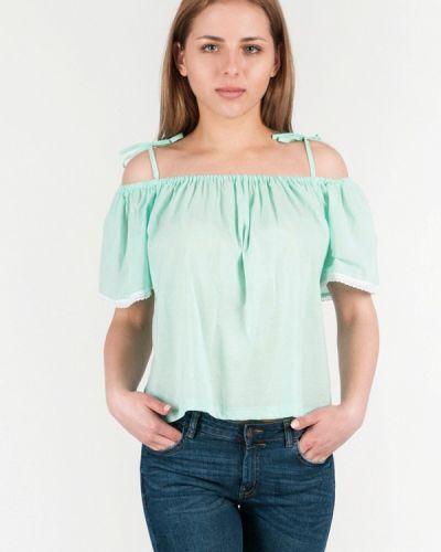 Бирюзовая блузка Vergans