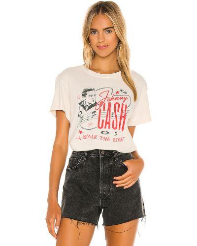 Bawełna beżowy włókienniczy światło t-shirt Daydreamer