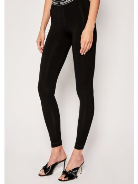 Czarne legginsy Laurel