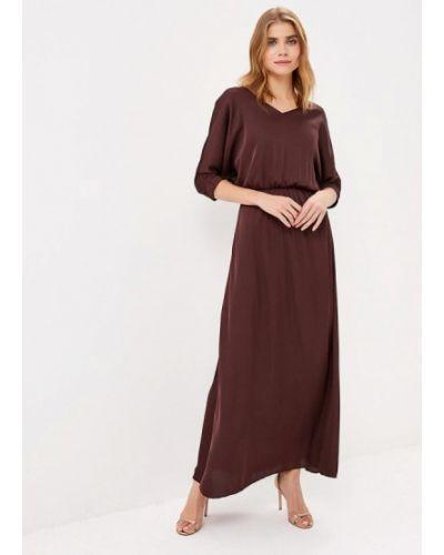 Вечернее платье - коричневое Olga Skazkina