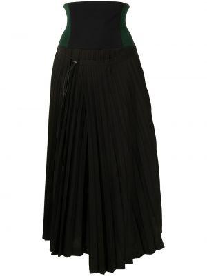 Черная асимметричная юбка Toga Pulla