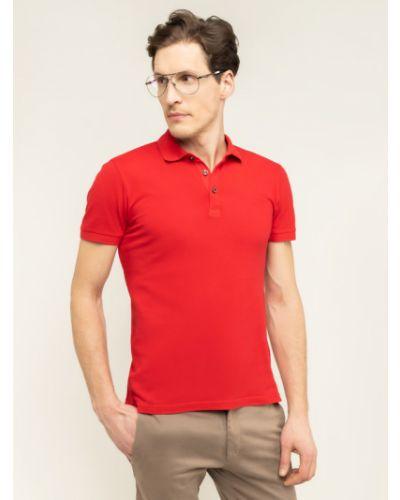Czerwona koszulka Baldessarini
