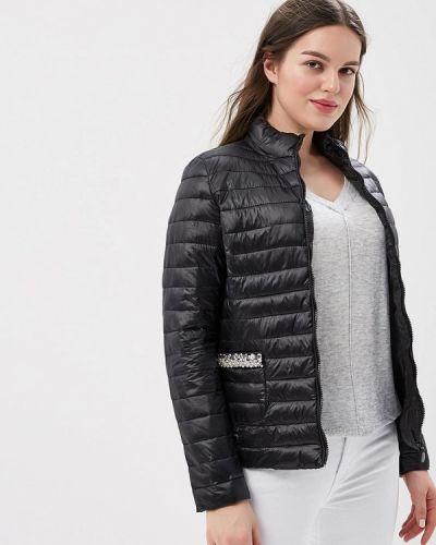 Утепленная куртка демисезонная черная Z-design