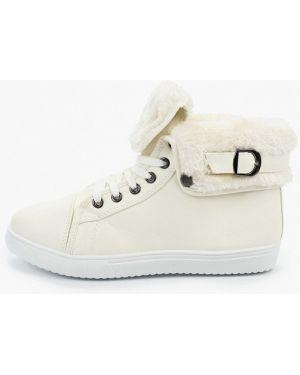 Высокие кроссовки белый из искусственной кожи L.day