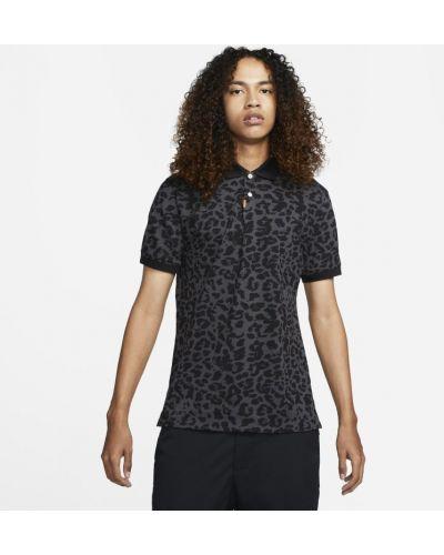 T-shirt z printem - szara Nike