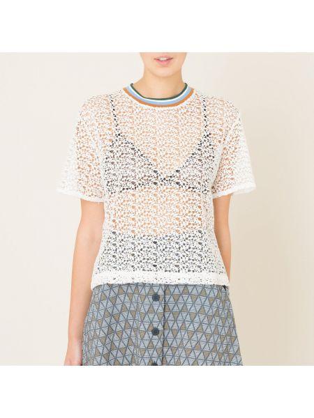 Кружевная блузка - белая Paul & Joe Sister
