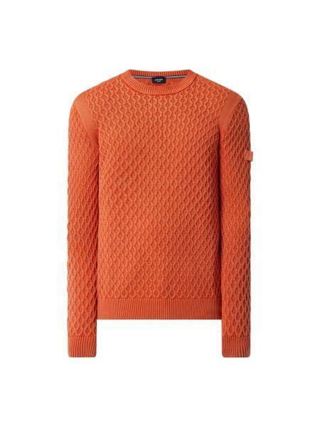Sweter bawełniany - pomarańczowy Joop! Jeans