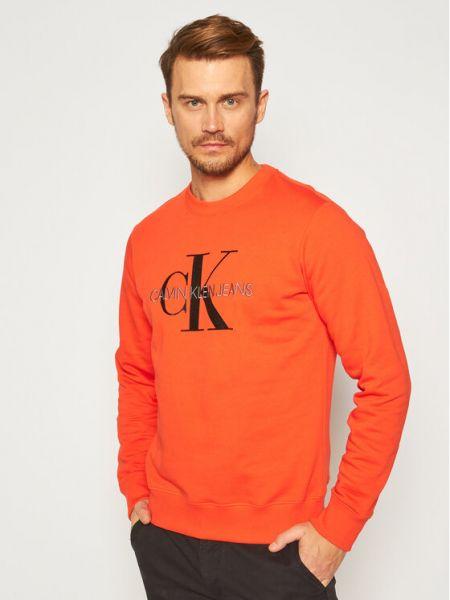 Czerwony dres Calvin Klein Jeans