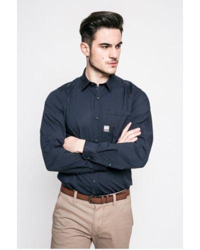 Рубашка однотонная хлопковая S.oliver