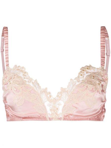Кружевной бюстгальтер - розовый La Perla