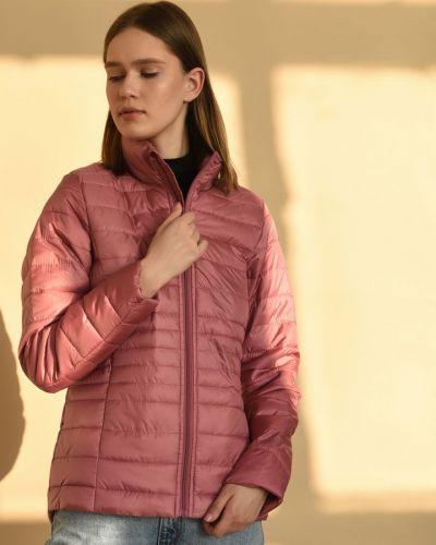 Розовая куртка на молнии с воротником Broadway