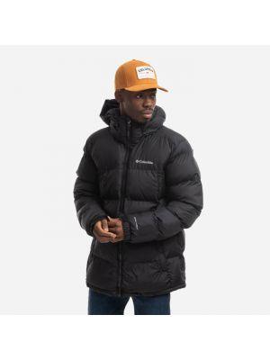 Теплая черная куртка Columbia