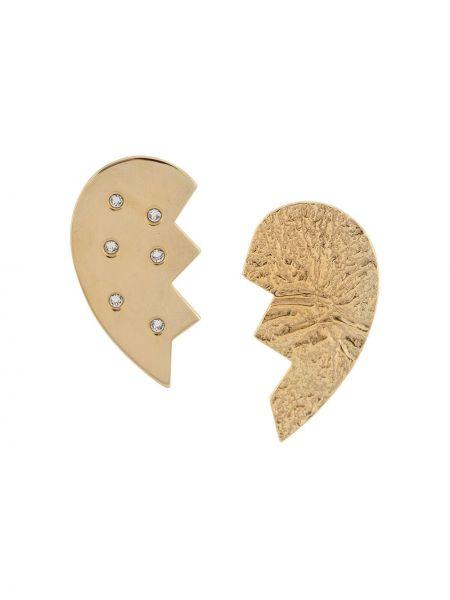 Серьги-гвоздики на кнопках Magda Butrym
