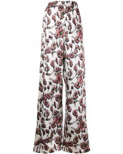 Брюки с завышенной талией брюки-хулиганы дудочки Mm6 Maison Margiela