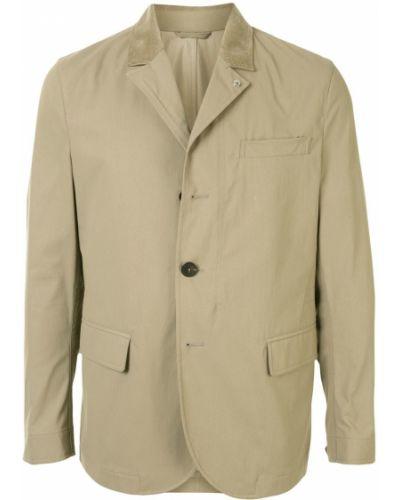 Классическая куртка на пуговицах с воротником с карманами Kent & Curwen