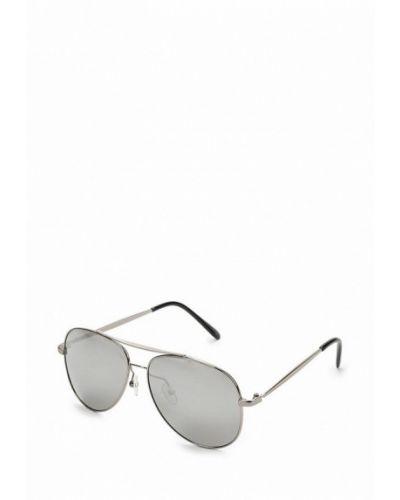 Солнцезащитные очки серебряного цвета Noryalli