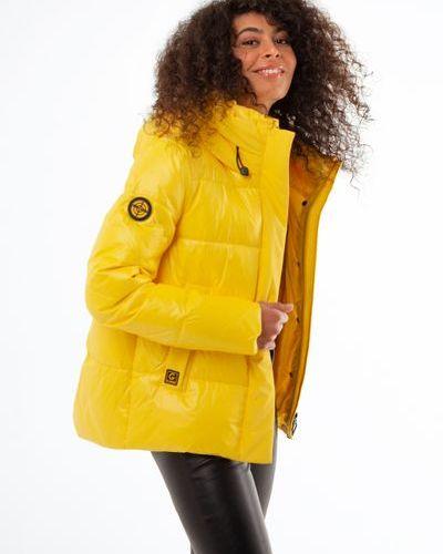 Утепленная куртка - желтая Visdeer
