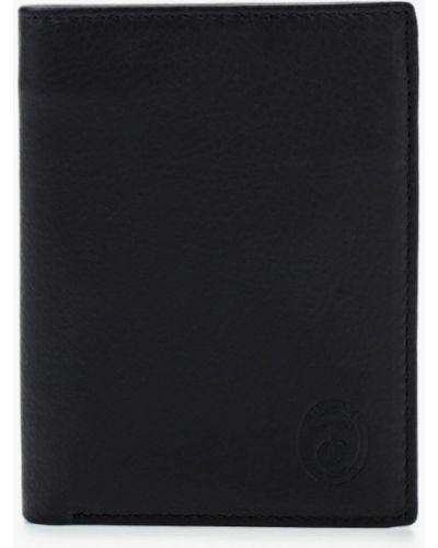 Кожаный черный кошелек Trussardi Collection