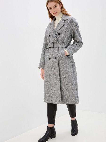 Серое пальто с капюшоном Mezzatorre