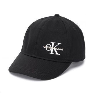 Czapka z logo czarny Calvin Klein Kids
