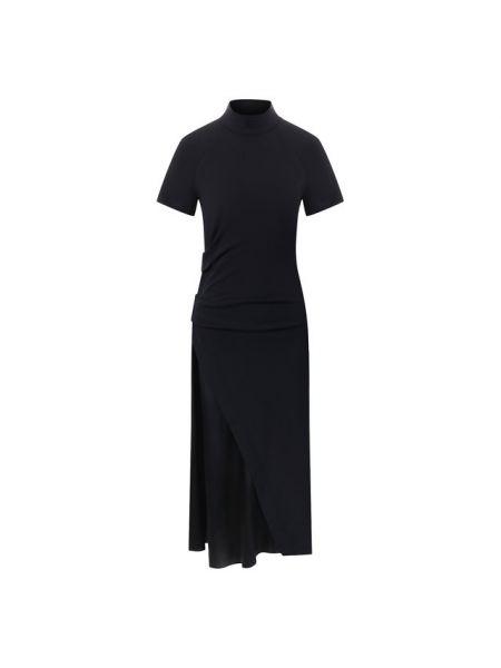 Платье миди спортивное шелковое Brunello Cucinelli