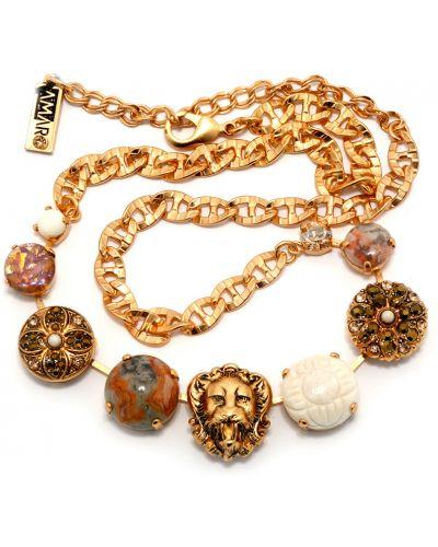 Белое ожерелье Amaro