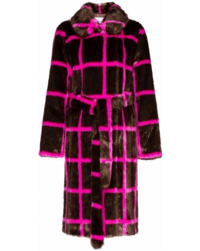 Розовое пальто Stand
