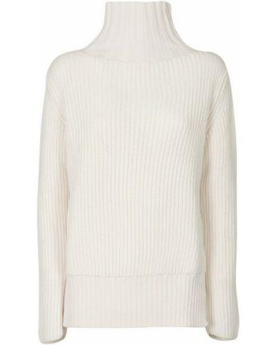 Biały sweter Drome