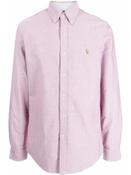 Рубашка с длинным рукавом - белая Polo Ralph Lauren