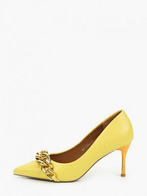 Желтые зимние туфли Sprincway